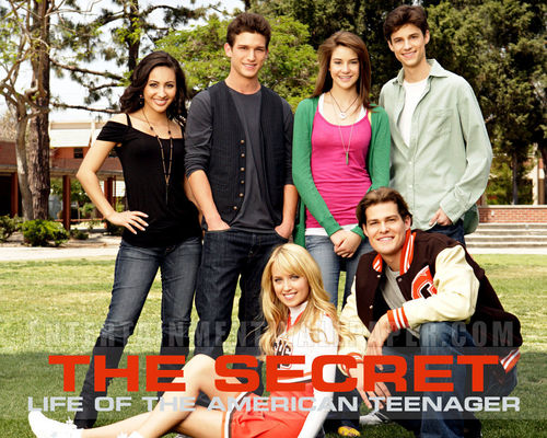 The Secret Life of the American Teenager wallpaper called Ben,Grace,Jack,Amy,Ricky,Adrian