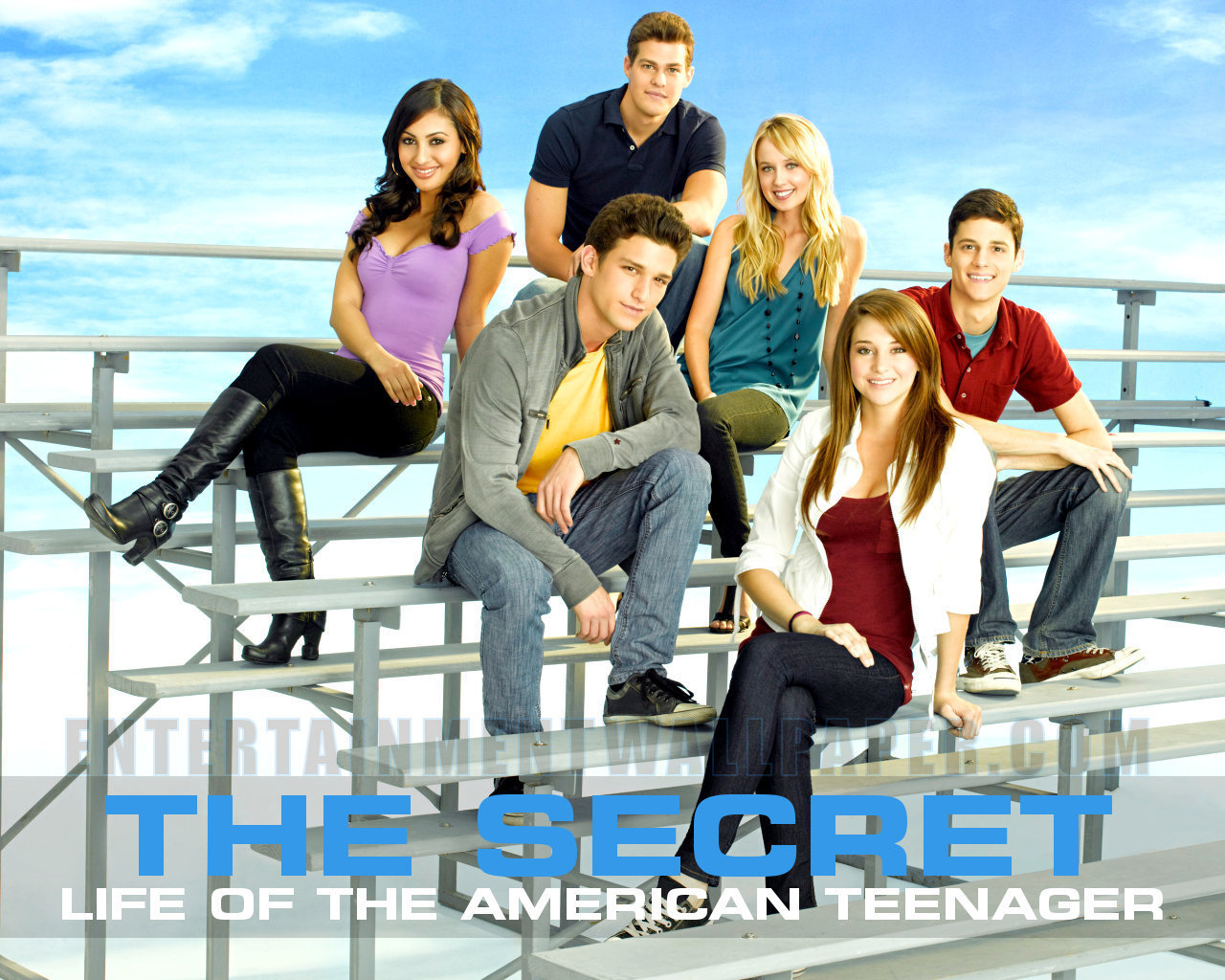 The Secret Life of the American Teenager images Ben,Grace,Jack,Amy,Ricky,Adrian HD wallpaper and background photos