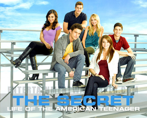 The Secret Life of The American Teenager kertas dinding titled Ben,Grace,Jack,Amy,Ricky,Adrian