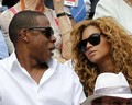 beyonce and jay_z at the French Open (June 6)