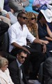 বেয়ন্স and জেই জেড্‌ at the French Open (June 6)