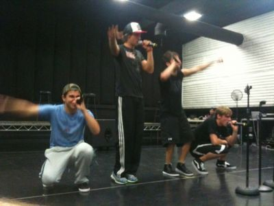 Big Time Rush Rehearses for NYC