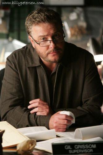 Billy as Gil Grissom, ill but still gorgous!