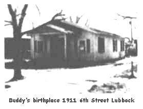 Buddy's birthplace - buddy-holly Photo