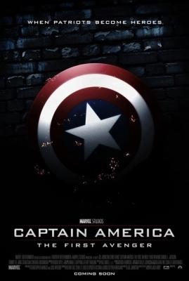 Captain America Teaer Poster