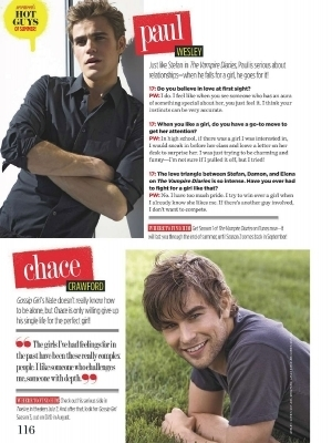 Chace scan Seventeen June/July