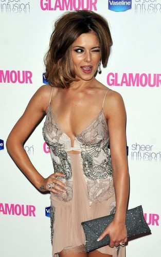 Cheryl Cole at the Glamour Women of the año awards (June 8)