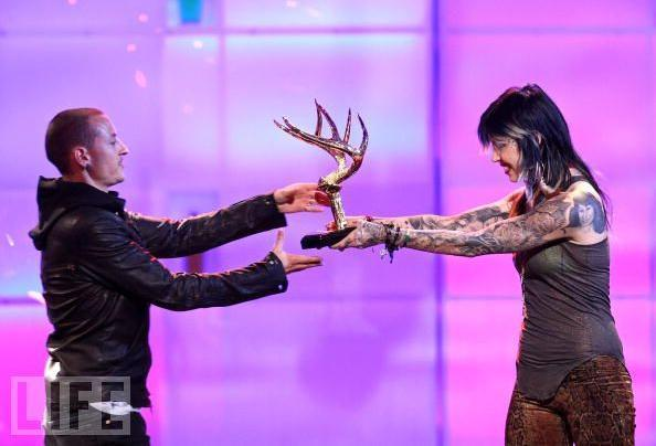 Chester and Kat von d