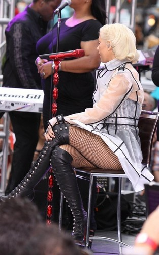 Christina Performing in NYC