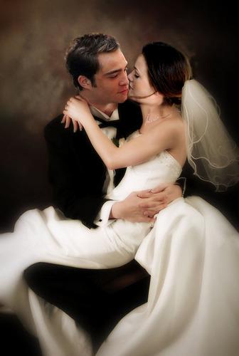 Chuck & Blair wedding