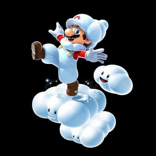 nube, nuvola Mario
