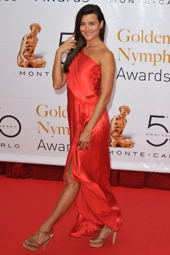 Cote De Pablo @ Closing Ceremony of the 2010 Monte Carlo televisie Festival
