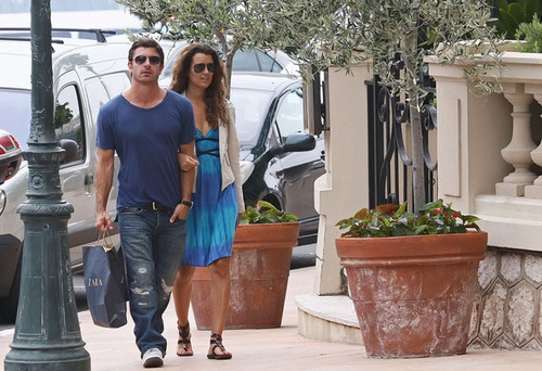 Cote de Pablo in Monaco for Monte-Carlo for ویژن ٹیلی Festival