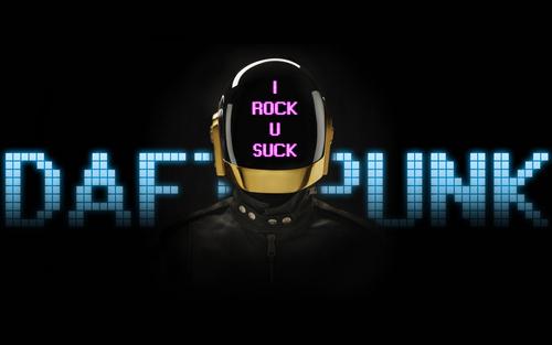 i rock u suck