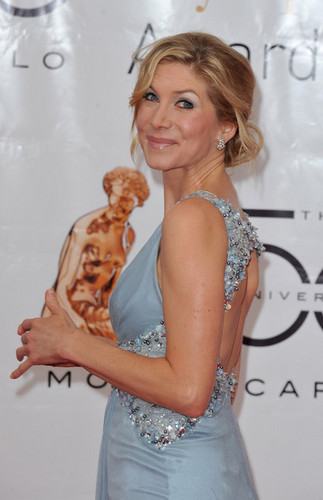 Elizabeth Mitchell at the 50th Monte-Carlo TV Festival Closing Cerimony