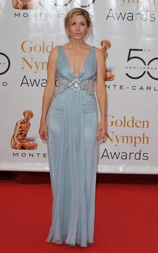 Elizabeth Mitchell at the 50th Monte-Carlo TV Festival Closing Cerimony