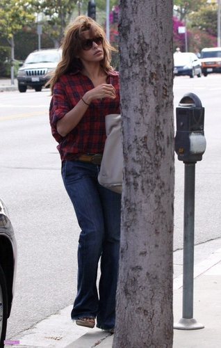 Eva out and about in Beverly Hills 6/2/10