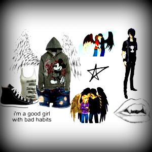 Polyvore wallpaper titled For ☠TattooLoverJules☠