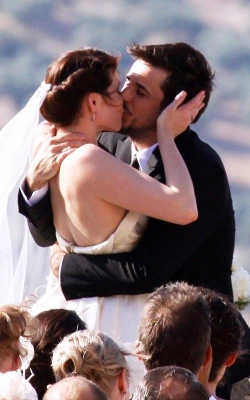 Gemma Arterton marrying Italian stuntman Stefano Catelli in Spanish wedding