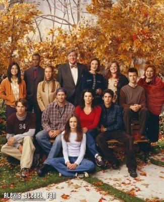 Gilmore Girls Season 3 promotional stills