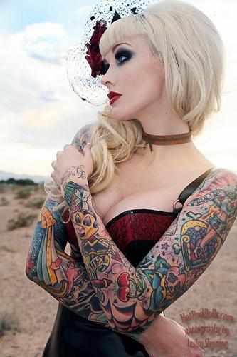 Girl - inked-magazine Photo