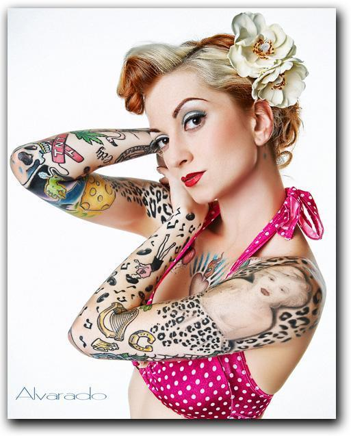 Inked Magazine Images Girl Wallpaper And Background Photos