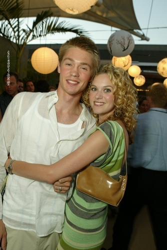 Hilarie and Chad Michael Murray