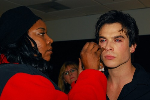 Ian somerhalder vamping up