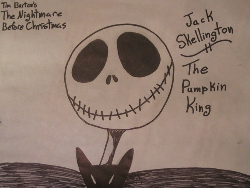 Jack Skellington; The pumpkin, boga King