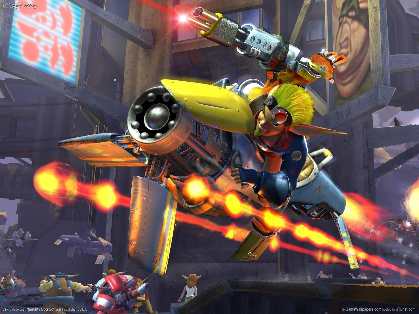 Download Jak Daxter Wallpapers: Jak And Daxter Images Jak II Wallpapers Wallpaper Photos