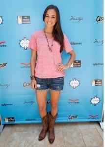 Jana Kramer at mtv Movie Awards Style Lounge