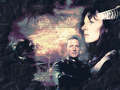 John & Delenn - babylon-5 wallpaper
