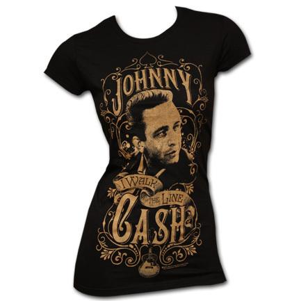 Johnny Cash T-Shirt at TeesForAll.com