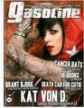 Gasoline Magazine: Kat Von D