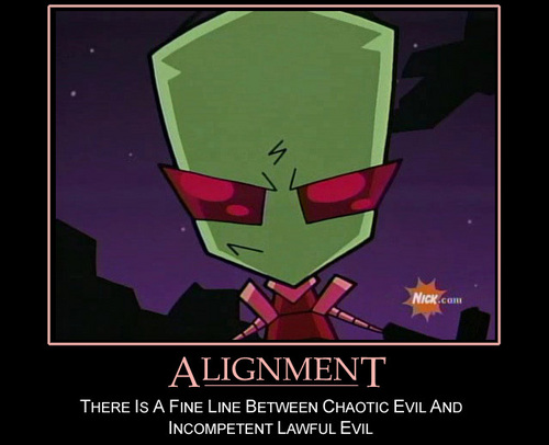 "LOL! Funny ""Invader Zim"" Picture Of Zim (Read Caption)"