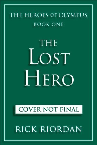 The Heroes of Olympus Series wallpaper titled Lost Hero Book Cover ( NOT FINAL )