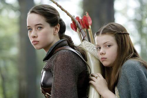 Image result for susan and lucy pevensie