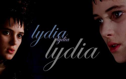 Beetlejuice: The Movie Hintergrund entitled Lydia