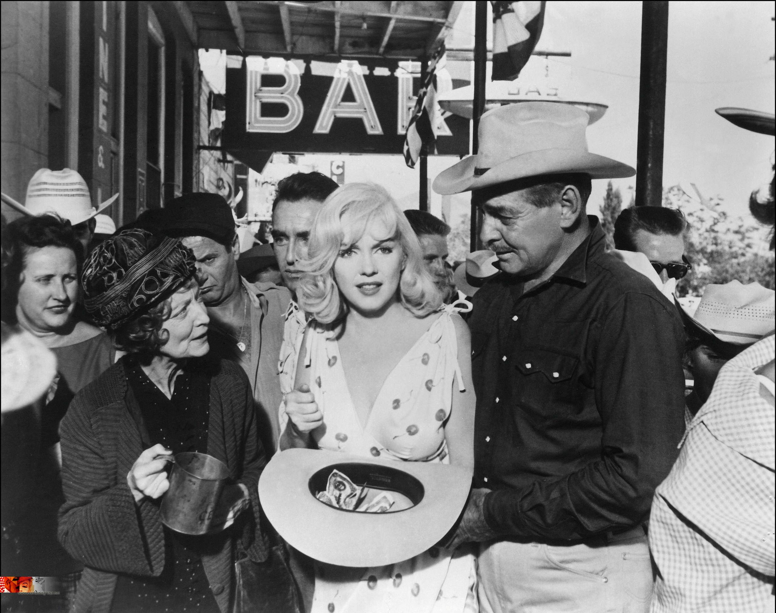 1964 July-Dec - Civil Rights Movement Veterans Marilyn monroe misfits photos
