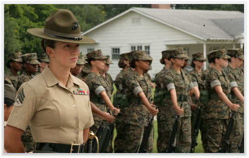 Marine Drill Instructor - marine-corps Photo