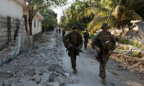 Marines In Haiti