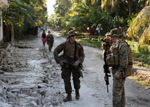 Marines In Haiti