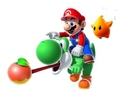Mario,Yoshi and Luma - super-mario-galaxy-2 photo
