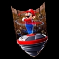 Mario using the Spin Drill - super-mario-galaxy-2 photo
