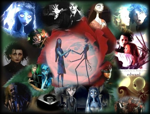Masterpieces - tim-burton Fan Art