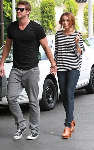 Miley Cyrus and Liam Hemsworth: Toluca Lake Lovers