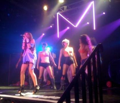Miley Cyrus in party GAY