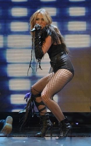 Miley in Britain's Got Talent