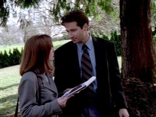 Mulder and Scully- Pilot