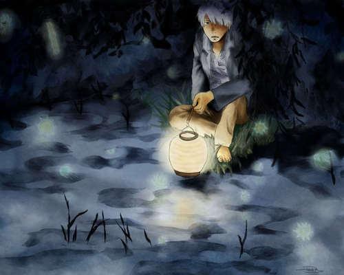 Mushi Shi wolpeyper